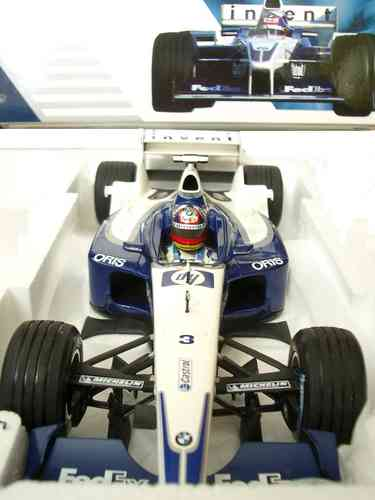 BMW Williams F1 MiniChamps 1:18 FW24 Montoya